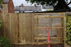 6ft close board fencing