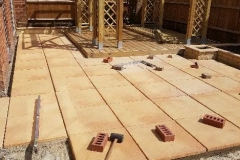 laying patio Wallingford