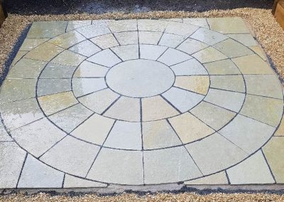 paving circle Watlington